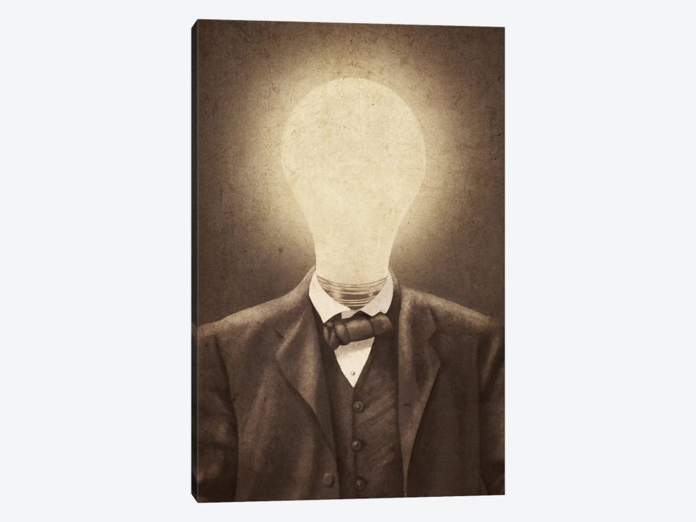 The Idea Man by Terry Fan 1-piece Canvas Print