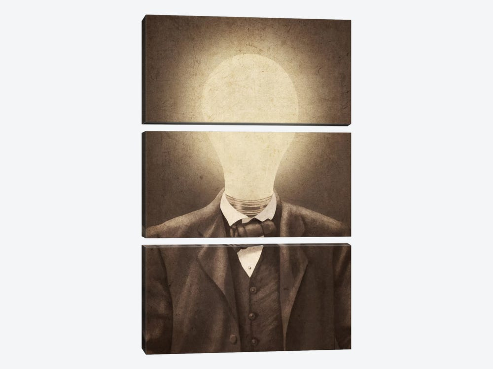 The Idea Man by Terry Fan 3-piece Canvas Print