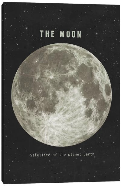 The Moon Landscape Canvas Print #TFN205