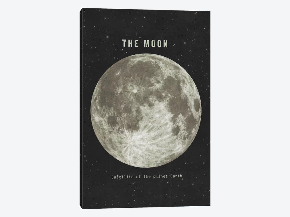 The Moon Landscape 1-piece Canvas Artwork