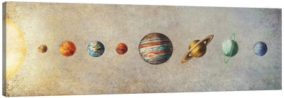 The Solar System Canvas Print #TFN207