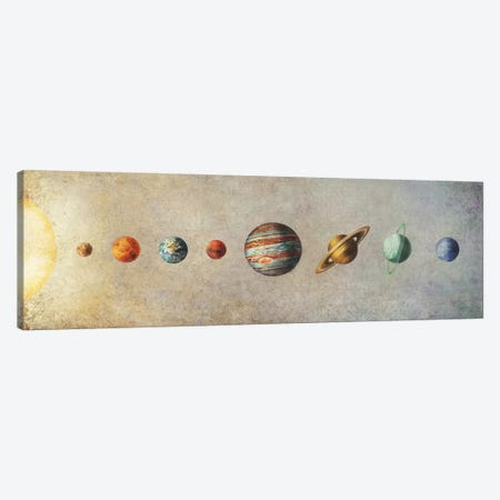 The Solar System Canvas Print #TFN207} by Terry Fan Canvas Art