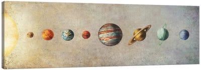 The Solar System Canvas Art Print