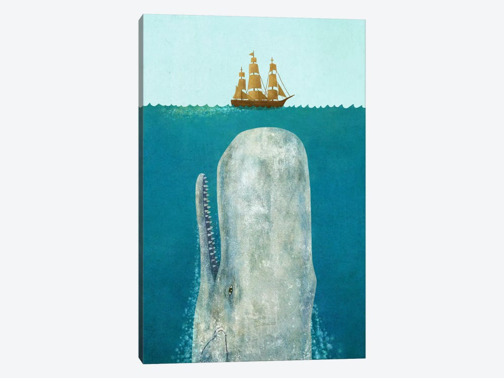 The Whale by Terry Fan 1-piece Canvas Art Print