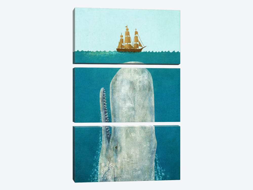 The Whale by Terry Fan 3-piece Art Print