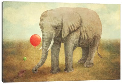 Truce Canvas Art Print