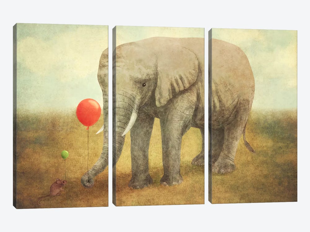 Truce by Terry Fan 3-piece Canvas Art
