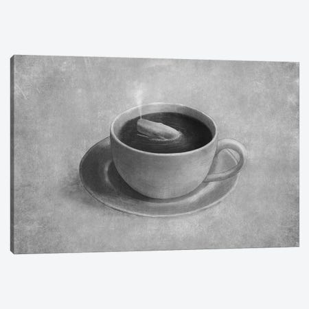 Whale In A Teacup Canvas Print #TFN225} by Terry Fan Canvas Art