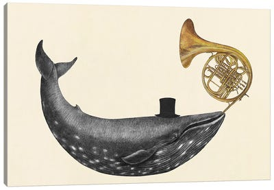 Whale Song Canvas Art Print
