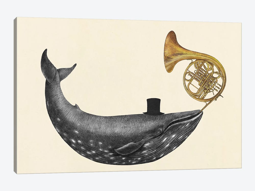 Whale Song by Terry Fan 1-piece Canvas Print
