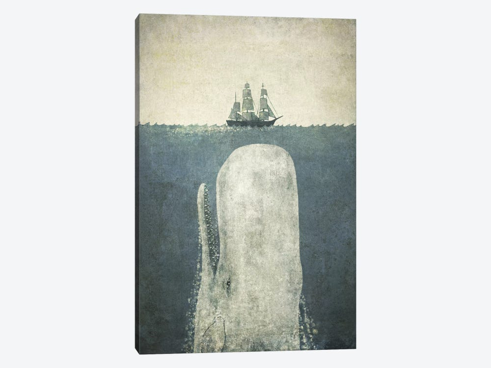White Whale by Terry Fan 1-piece Art Print