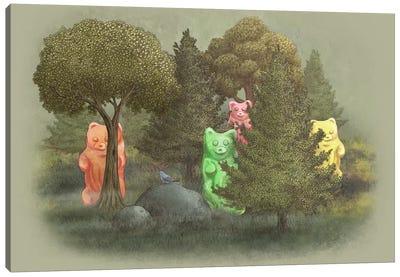 Wild Jelly Bears Canvas Print #TFN233