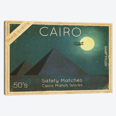 Cairo Safety Matches #1 Canvas Print #TFN23} by Terry Fan Canvas Art Print