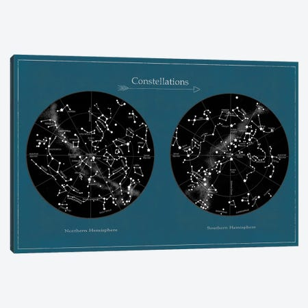 Constellations Canvas Print #TFN240} by Terry Fan Art Print