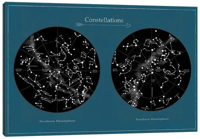 Constellations Canvas Art Print