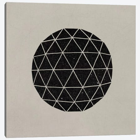 Dark Geodesic Canvas Print #TFN241} by Terry Fan Canvas Print