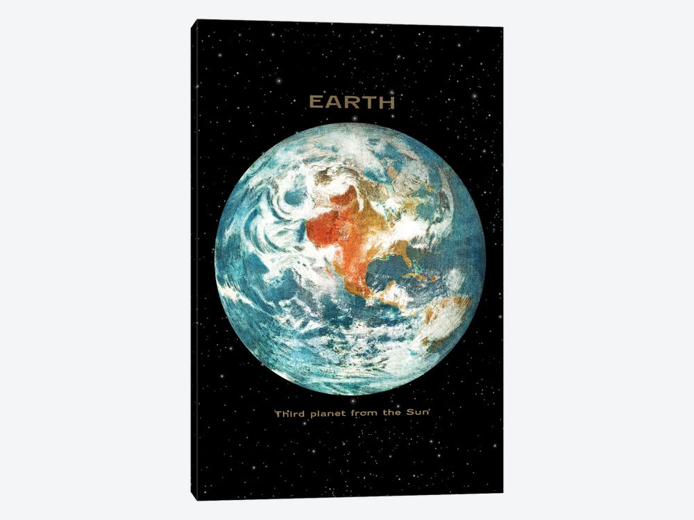Earth II 1-piece Canvas Print