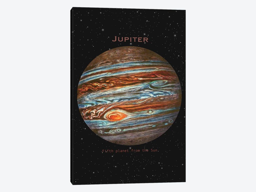 Jupiter by Terry Fan 1-piece Canvas Print