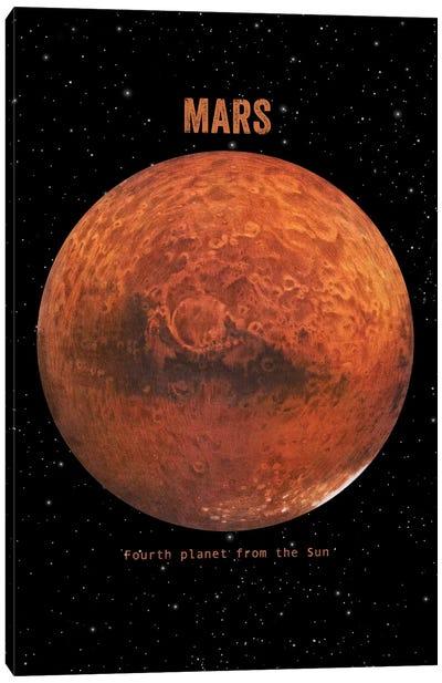 Mars Canvas Art Print