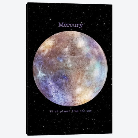 Mercury Canvas Print #TFN246} by Terry Fan Canvas Artwork