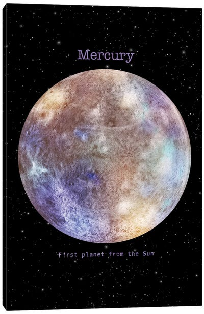 Mercury Canvas Art Print