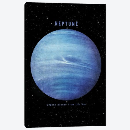 Neptune Canvas Print #TFN247} by Terry Fan Canvas Art