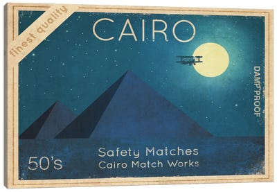 Cairo Safety Matches #2 Canvas Art Print