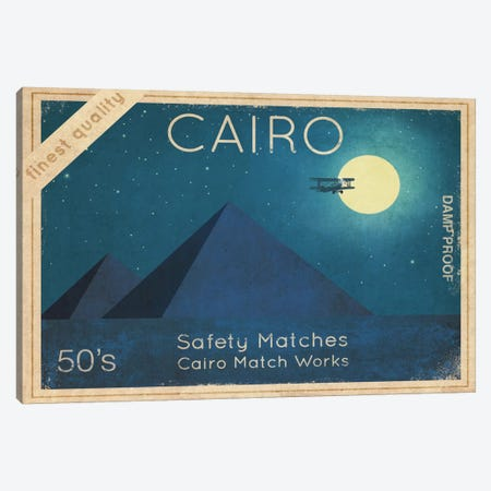 Cairo Safety Matches #2 Canvas Print #TFN24} by Terry Fan Canvas Art
