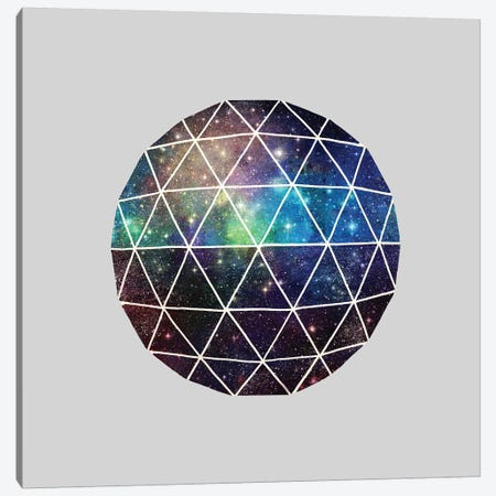 Space Geodesic Canvas Print #TFN251} by Terry Fan Canvas Artwork
