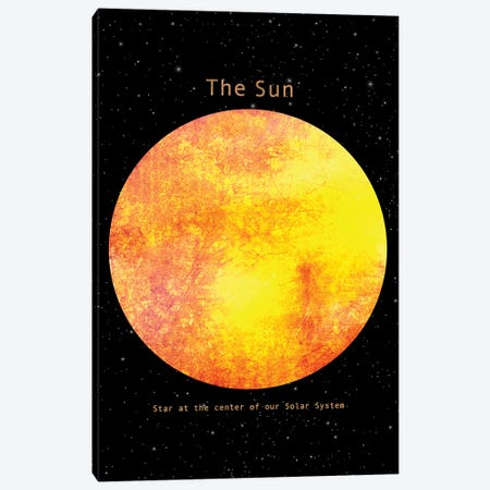 The Sun Canvas Print #TFN252} by Terry Fan Canvas Art
