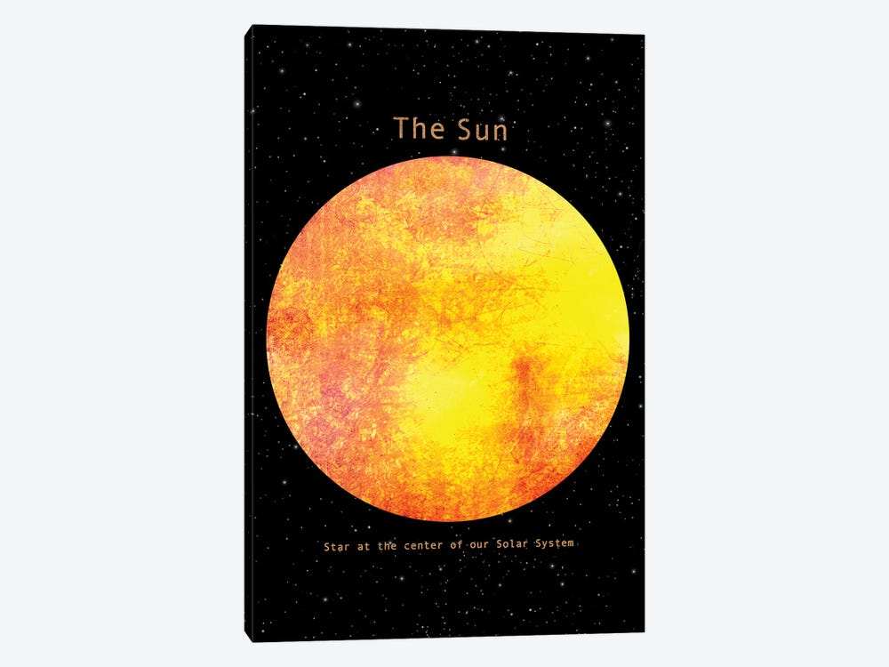 The Sun by Terry Fan 1-piece Canvas Wall Art