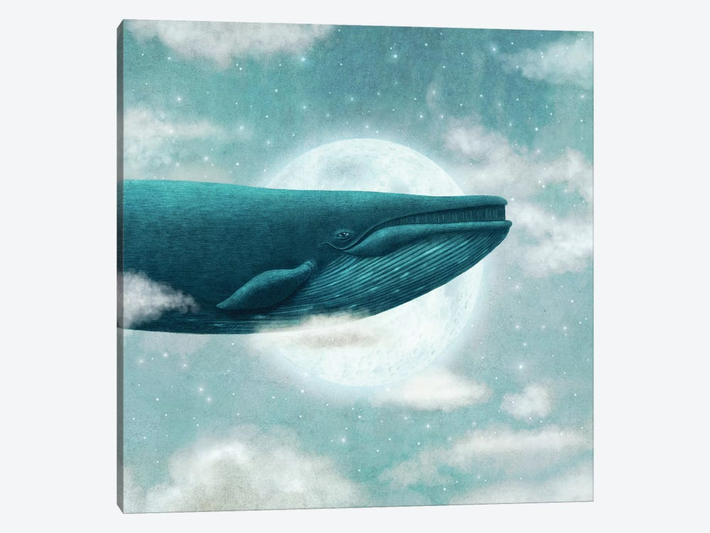 In The Clouds Square by Terry Fan 1-piece Canvas Art