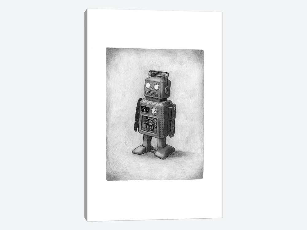 Lonely Robot by Terry Fan 1-piece Art Print