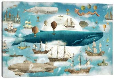 Ocean Meets Sky #3 Canvas Art Print