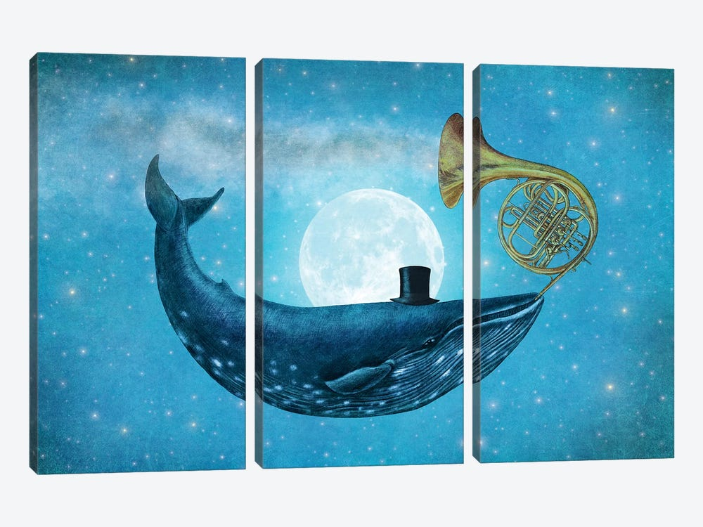 Cloud Maker II by Terry Fan 3-piece Canvas Art