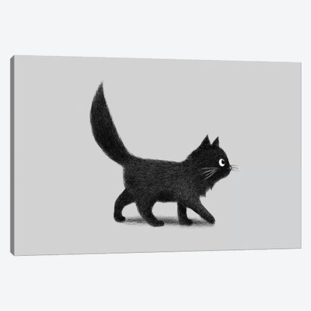 Creeping Cat  Canvas Print #TFN288} by Terry Fan Canvas Art Print