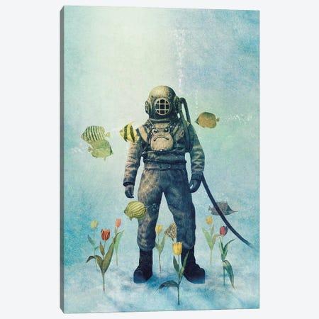 Deep Sea Garden III Canvas Print #TFN290} by Terry Fan Canvas Wall Art