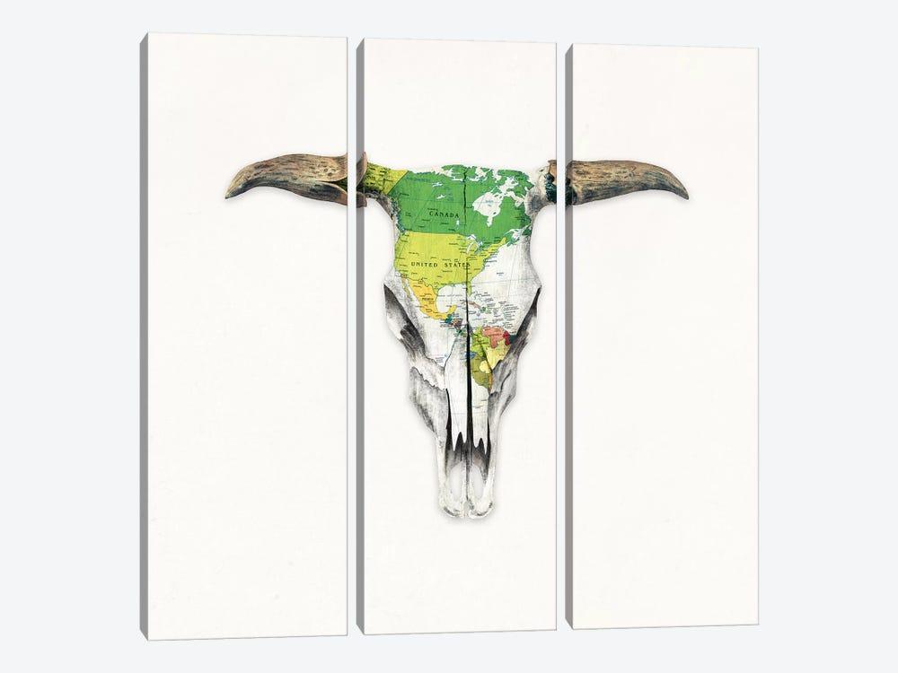 Go West II by Terry Fan 3-piece Canvas Print
