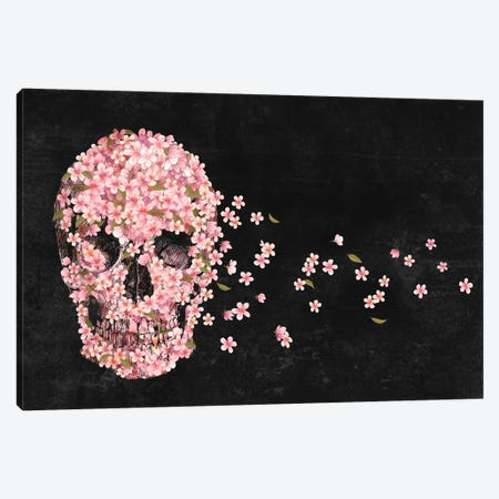 A Beautiful Death Landscape Canvas Print #TFN2} by Terry Fan Canvas Print