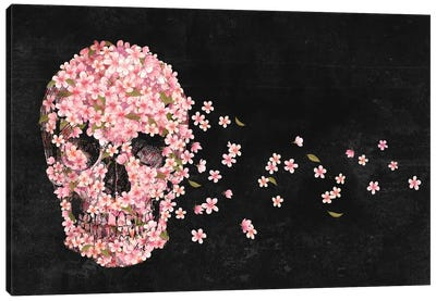 A Beautiful Death Landscape Canvas Art Print
