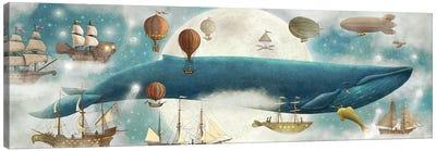 In The Clouds II Canvas Art Print