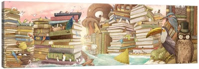 Library Islands Canvas Art Print