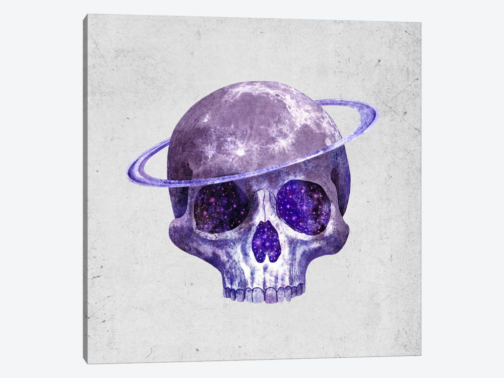 Cosmic Skull by Terry Fan 1-piece Canvas Art Print
