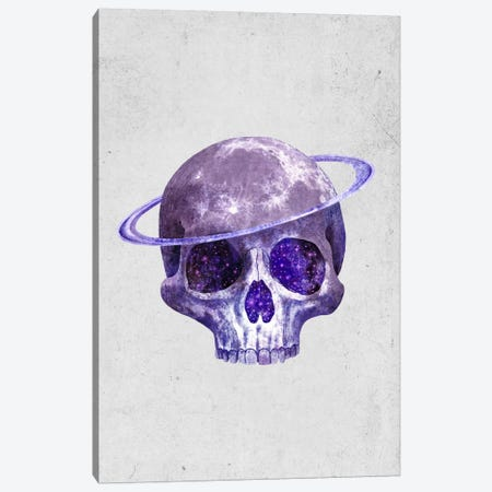 Cosmic Skull Portrait Canvas Print #TFN36} by Terry Fan Canvas Art Print