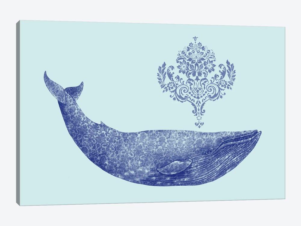Damask Whale #2 by Terry Fan 1-piece Art Print