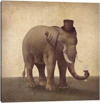 A Fine Vintage Canvas Art Print