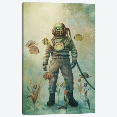 Deep Sea Garden #1 Canvas Print #TFN42} by Terry Fan Art Print