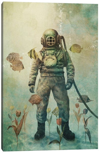 Deep Sea Garden #1 Canvas Print #TFN42