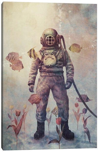 Deep Sea Garden #2 Canvas Art Print