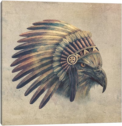 Eagle Chief #1 Canvas Art Print